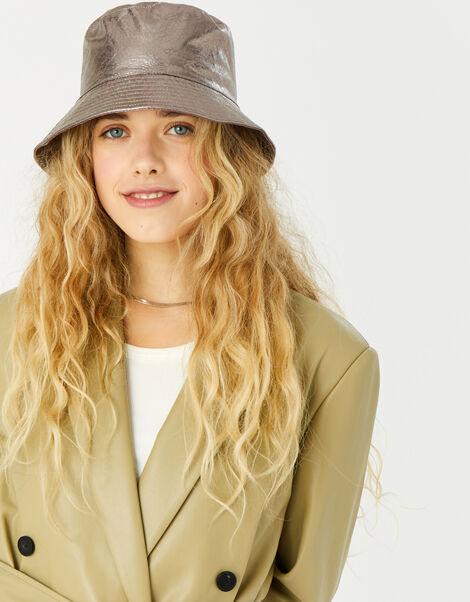 Metallic Bucket Hat , , large