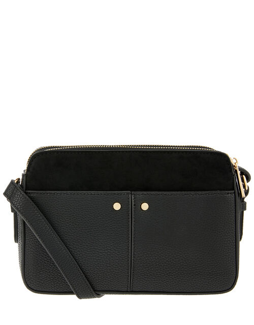 Charlotte Cross-Body Bag, Black (BLACK), large