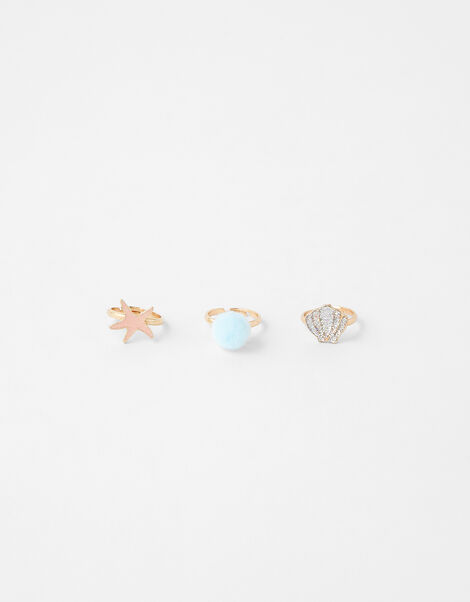 Mermaid Ring Set, , large