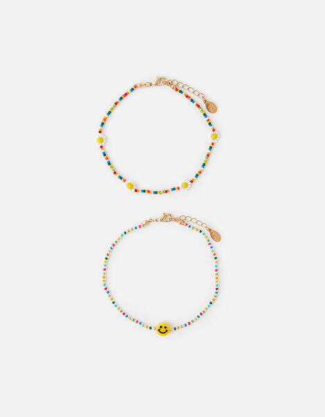 Sunshine and Daisies Anklet Set , , large