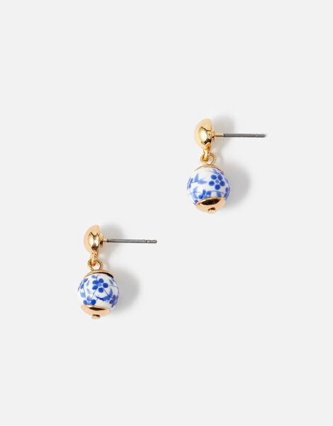 Country Retreat Ceramic Drop Earrings , , large