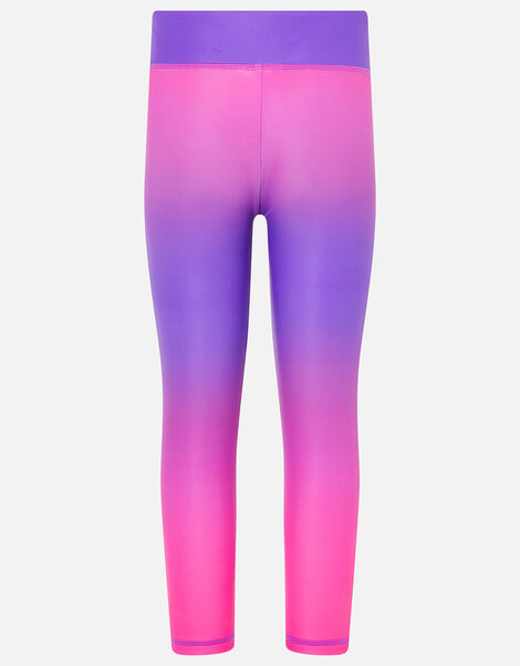 Girls Ombre Active Leggings Pink, Pink (PINK), large