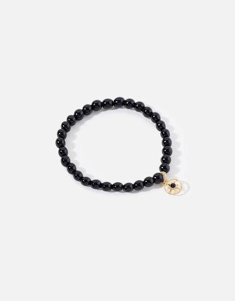Onyx Stone Pendant Bracelet, , large