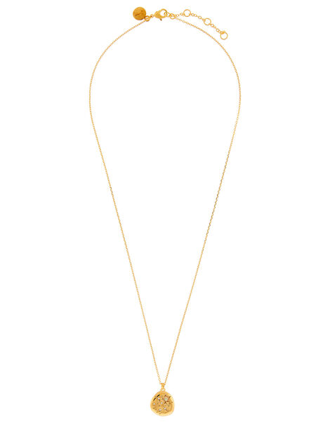 Gold-Plated Opal Zodiac Necklace - Sagittarius, , large