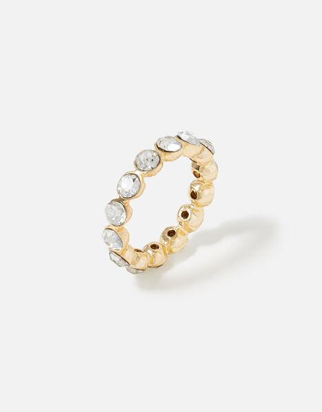 Feel Good Bezel Cut Eternity Ring  White, White (CRYSTAL), large