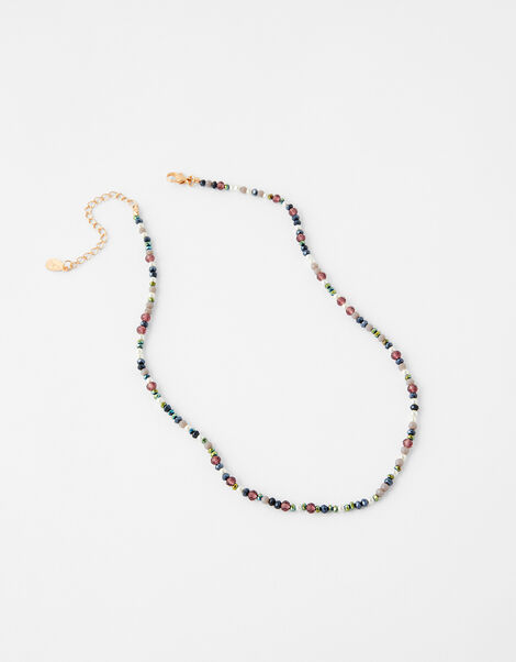 Beaded Necklace, , large
