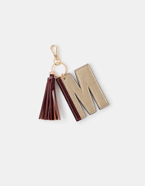 Letter Keyring - M, , large