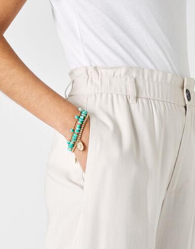 Turquoise Bracelet Set, , large