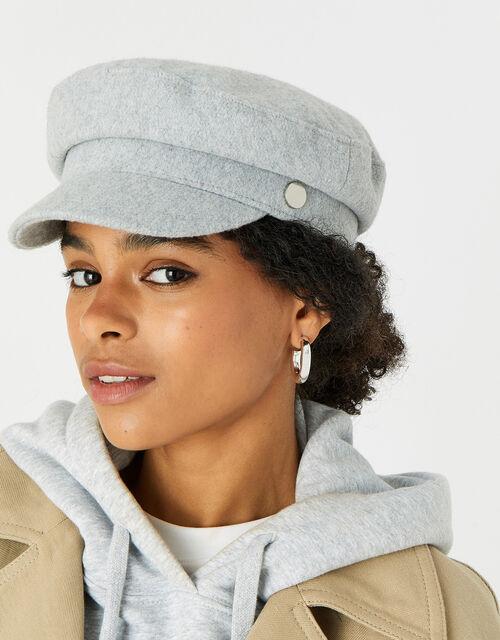 Baker Boy Hat , Grey (LIGHT GREY), large