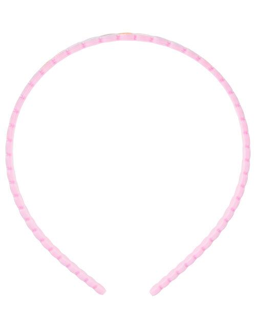 Rainbow Heart Headband, , large