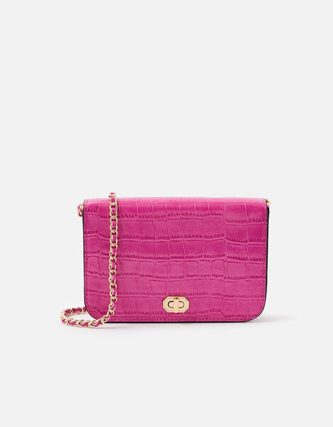 Evie Cross-Body Bag Red, Red (BERRY), large