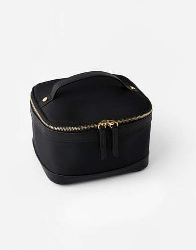 Square Lunch Box  Black, Black (BLACK), large