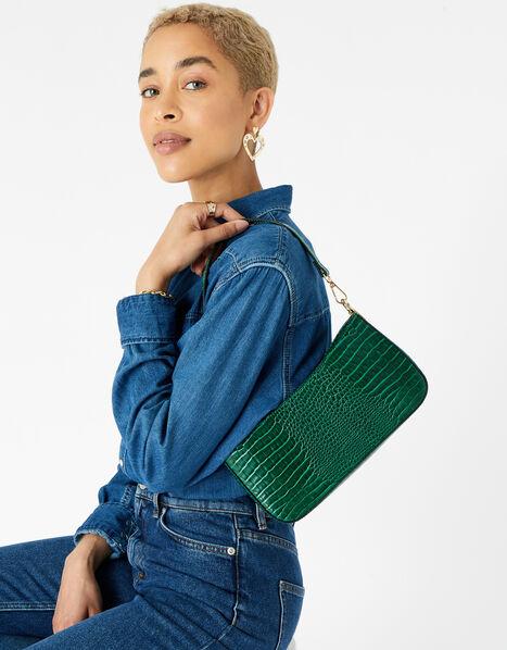 Roxanne Shoulder Bag Green, Green (GREEN), large