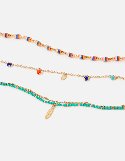 Montana Charmy Layered Anklets , , large