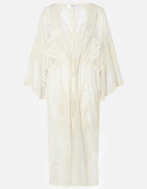 Jaki Lace Kimono, Cream (CREAM), large
