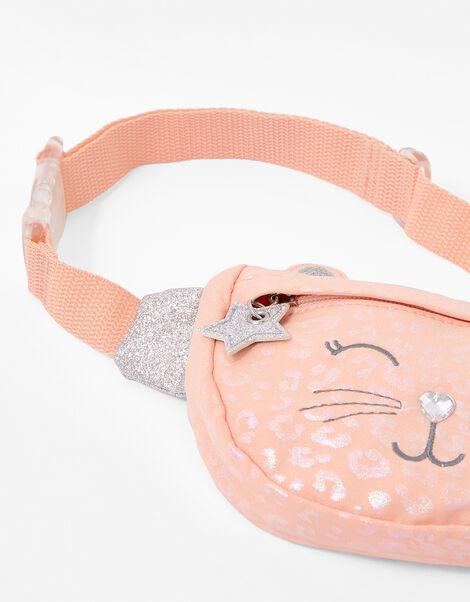 Glitter Cat Belt Bag, , large