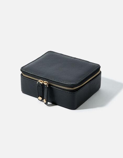 Large Leather Jewellery Box, , large