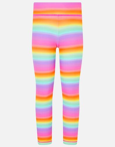 Girls Rainbow Ombre Leggings Multi, Multi (BRIGHTS-MULTI), large