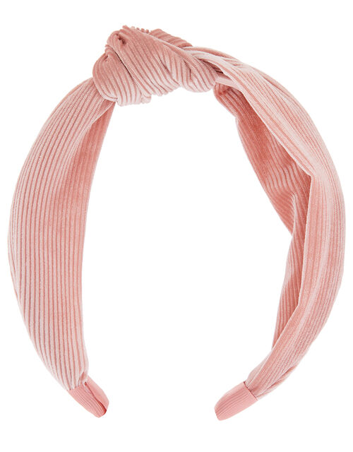 Wide Knot Cord Headband, , large