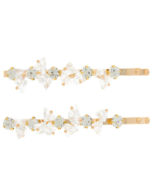 Crystal Hair Slides, , large