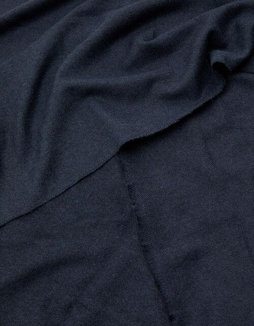 Wells Supersoft Blanket Scarf, Blue (NAVY), large
