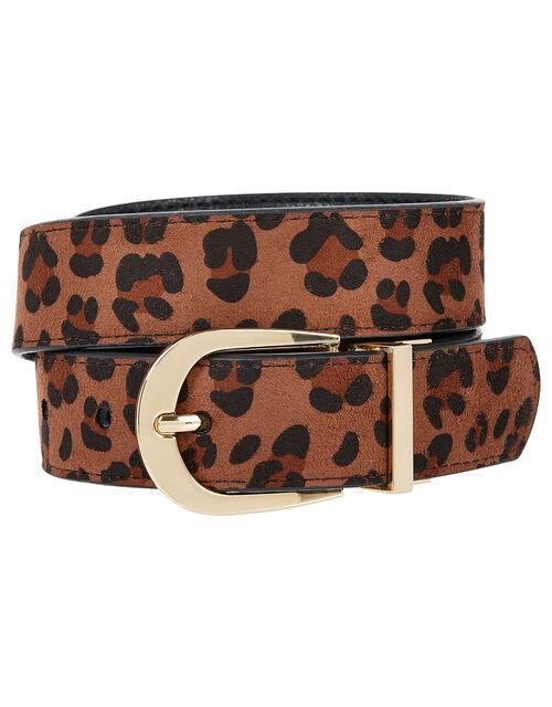 Reversible Belt, Leopard (LEOPARD), large