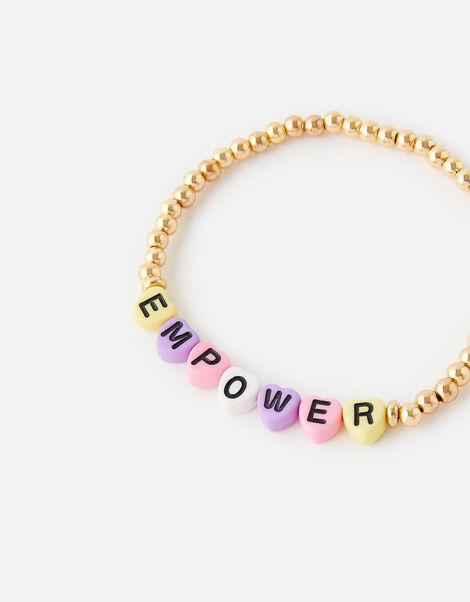 EMPOWER Stretch Beaded Bracelet, , large