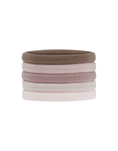 Thick Towelling Hair Band Multipack Multi, Multi (PASTEL-MULTI), large