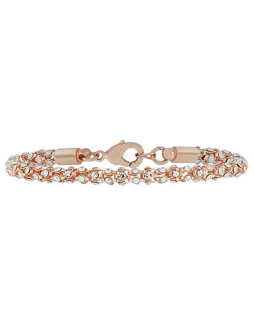 Crystal Snake Chain Bracelet, , large