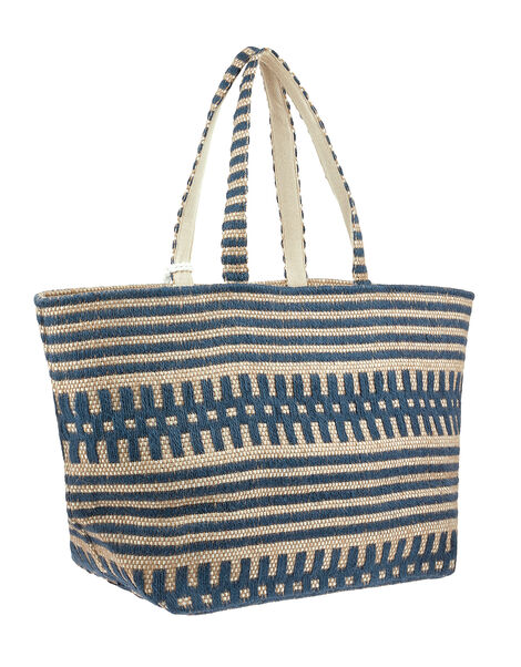 Willow Woven Beach Tote Bag, , large