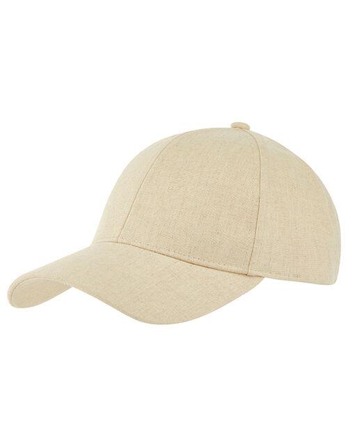 Linen Baseball Cap, , large