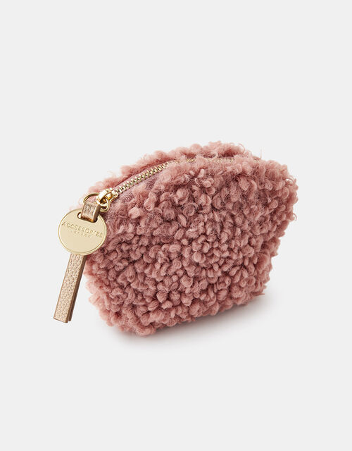 Fluffy Teddy Coin Purse, , large