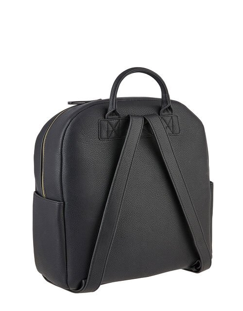 Nikki Dome Backpack, Black (BLACK), large