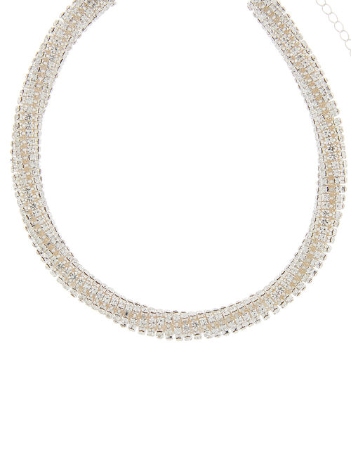 Cup Chain Collar Necklace, , large