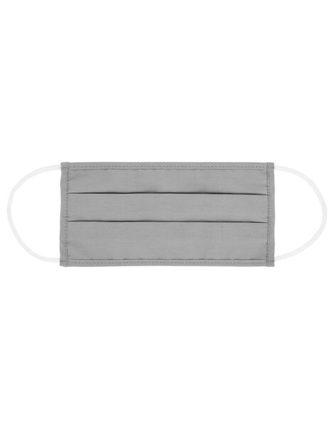 Face Covering in Pure Cotton Grey, Grey (GREY), large