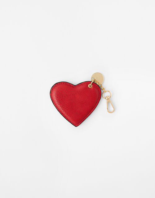 Valentine's Heart Keyring, Red (RED), large