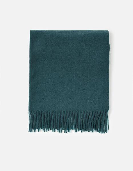 Holly Supersoft Blanket Scarf Teal, Teal (TEAL), large