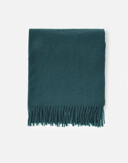 Holly Supersoft Blanket Scarf, Teal (TEAL), large