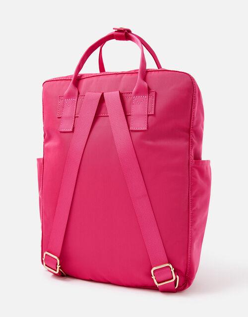 Frida Canvas Backpack , Pink (FUCHSIA), large