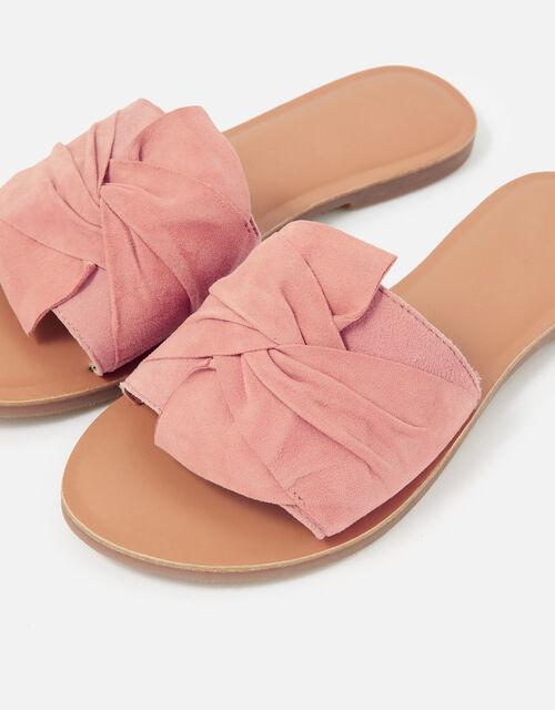Perth Fabric Twist Sliders, Pink (PINK), large