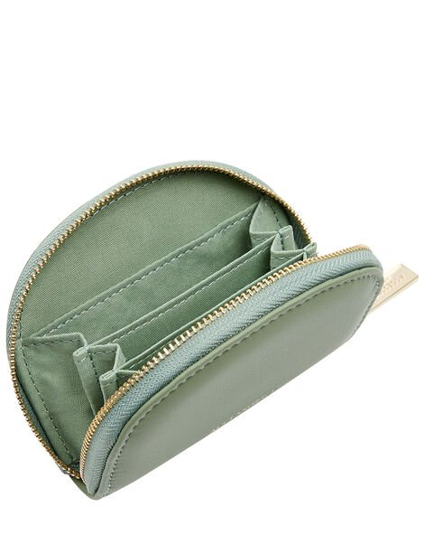 Crescent Coin Purse Green, Green (GREEN), large
