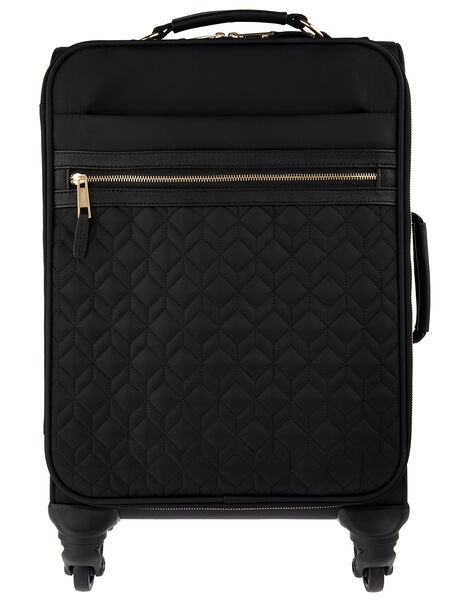 Cabin sized Quilted Suitcase, , large