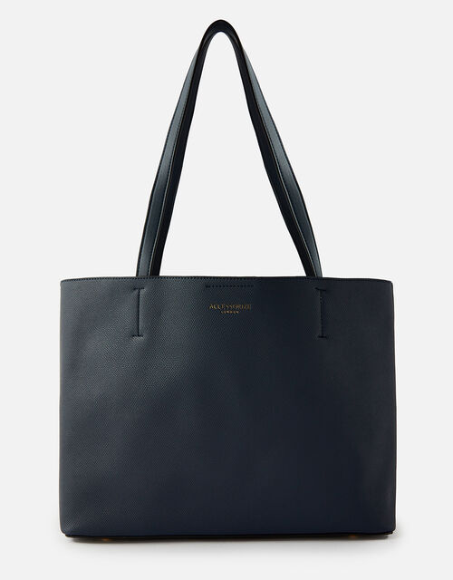 Leo Tote Bag, Blue (NAVY), large