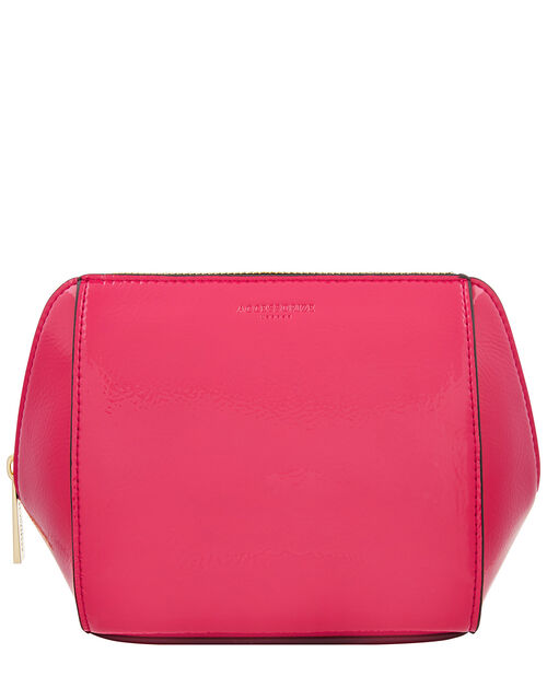 Patent Pouch Bag, Pink (PINK), large