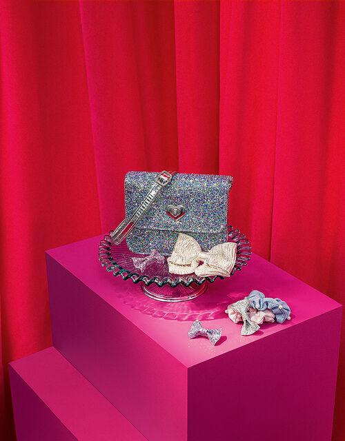 Shimmer Pearl Scrunchie Set, , large
