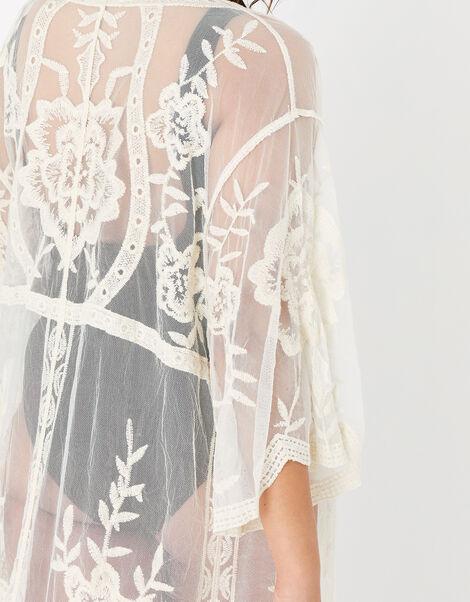 Jaki Lace Kimono Cream, Cream (CREAM), large