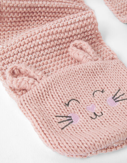 Bunny Knit Scarf, , large