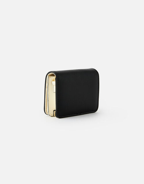 Cali Colourblock Chain Cardholder, Black (BLACK), large