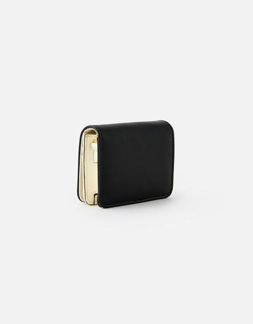 Cali Colourblock Chain Cardholder, Black (BLACK), large