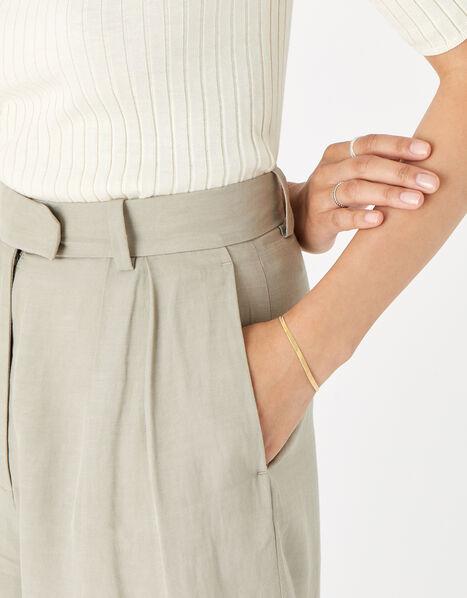 Gold-Plated Omega Bracelet, , large